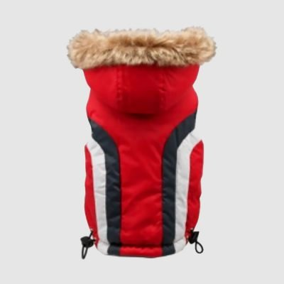 Doncaster Parka Red for Cats