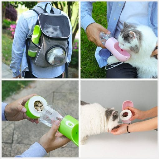 portable pet food water dispenser 05