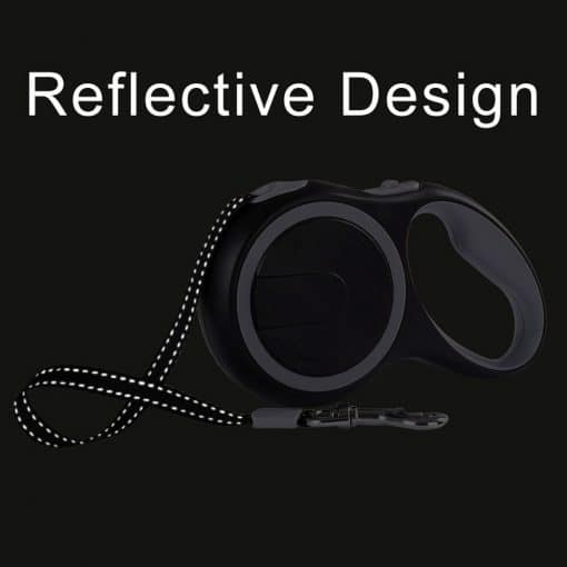 Reflective and Retractable Cat Leash