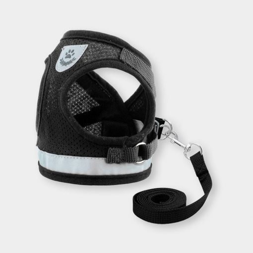 Katkin Reflective Harness Vest Black