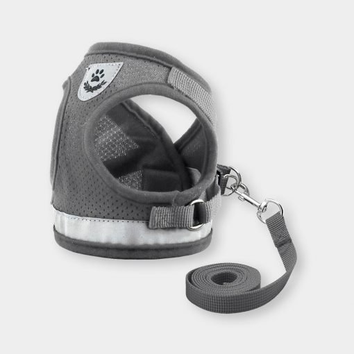 Katkin Reflective Harness Vest Grey