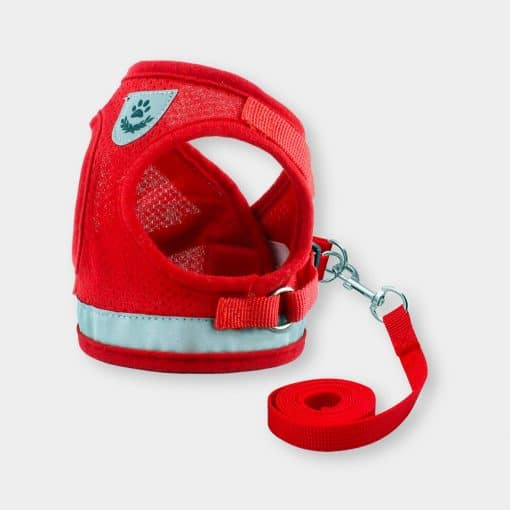 Katkin Reflective Harness Vest Red