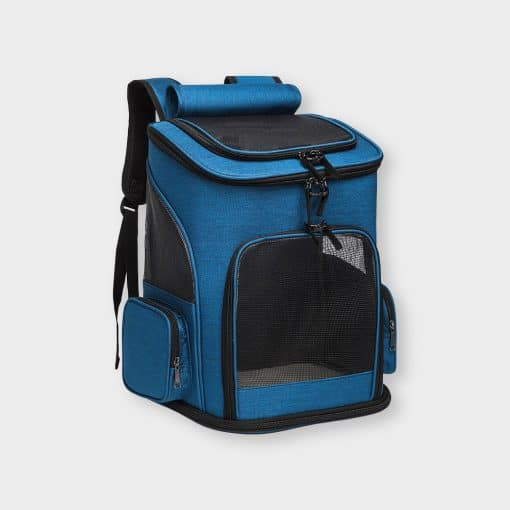 Cataro Cat Carrier Backpack Blue