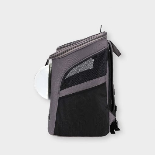Tundra Cat Carrier Backpack Side View